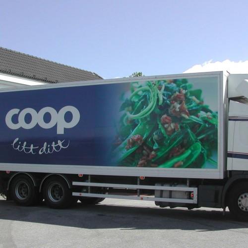 Coop Extra, bildekor