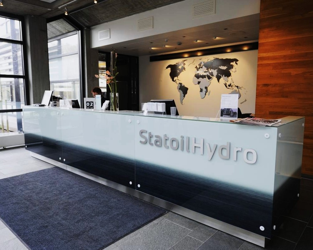 Statoil, receptionsdisk