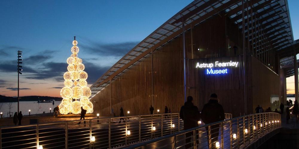 Tjuvholmen, Oslo , julbelysning