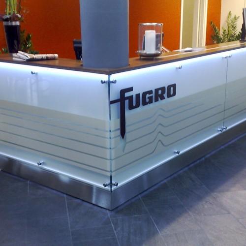 Fugro, Receptionsdisk