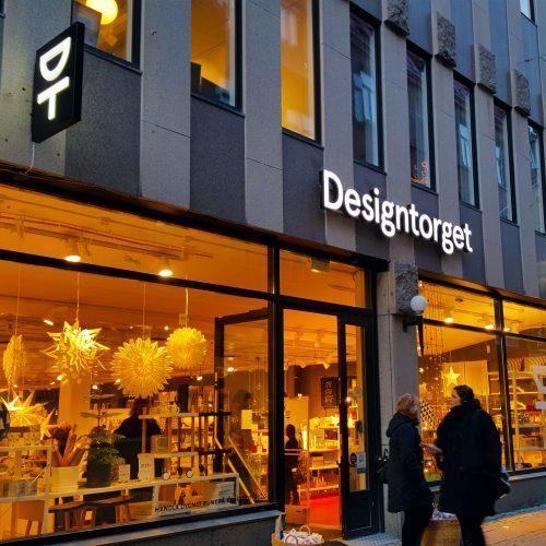 Designtorget Göteborg – Fasadskyltar