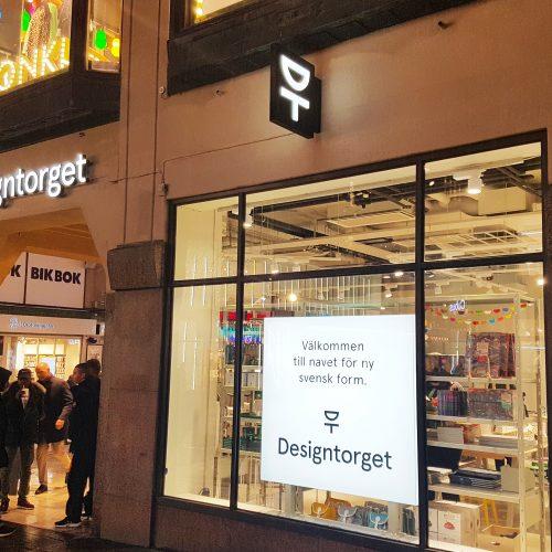 Designtorget, Kungsgatan Stockholm – Ljuslåda