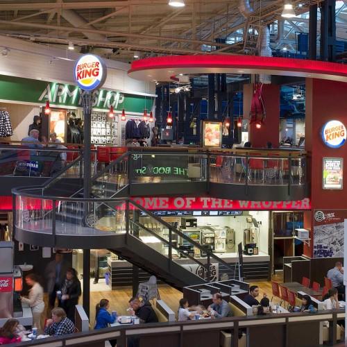 Burger King, Strömmen, fasad– och utomhusskylt
