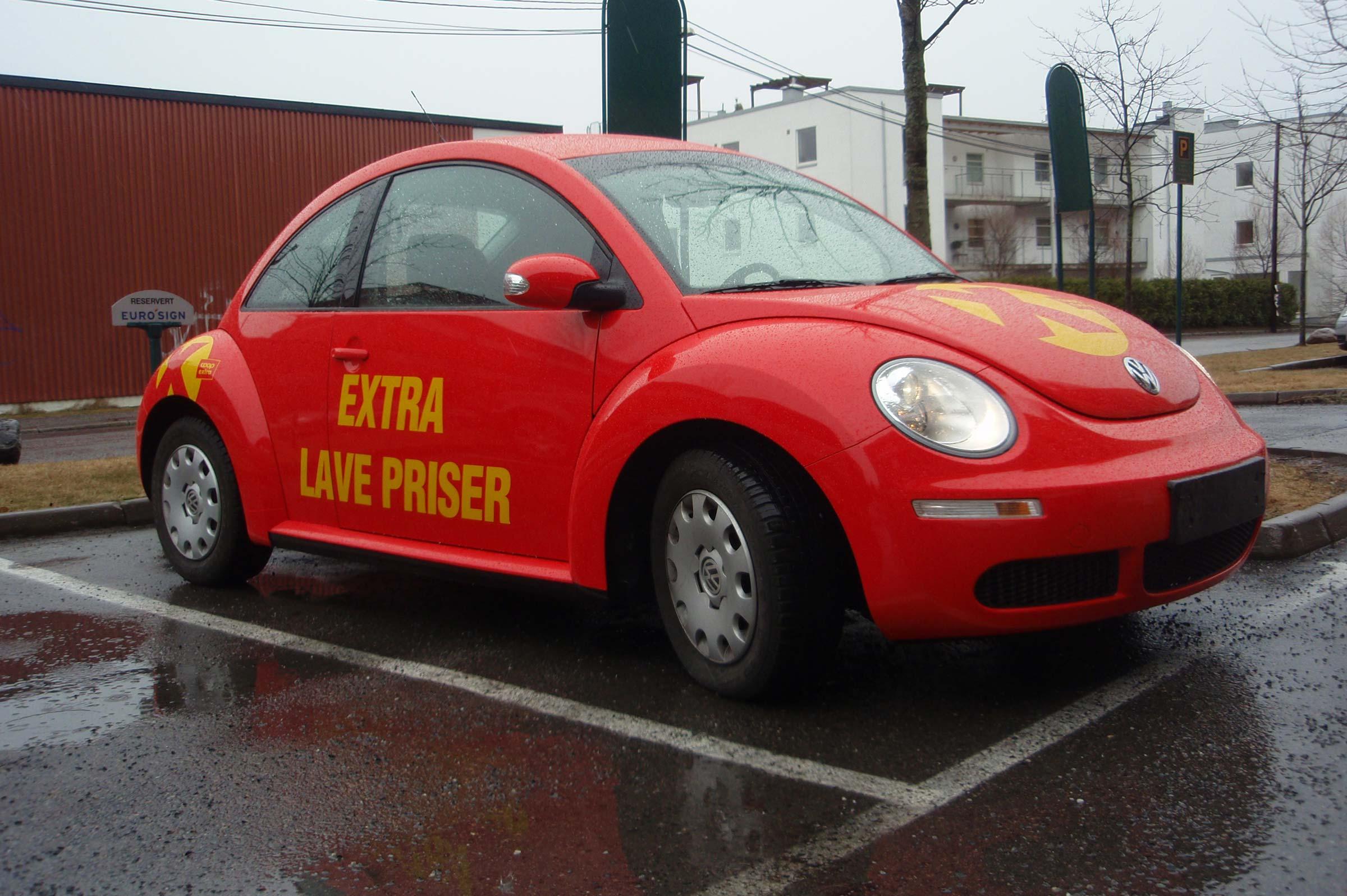 Coop Extra, bildekor, beetle