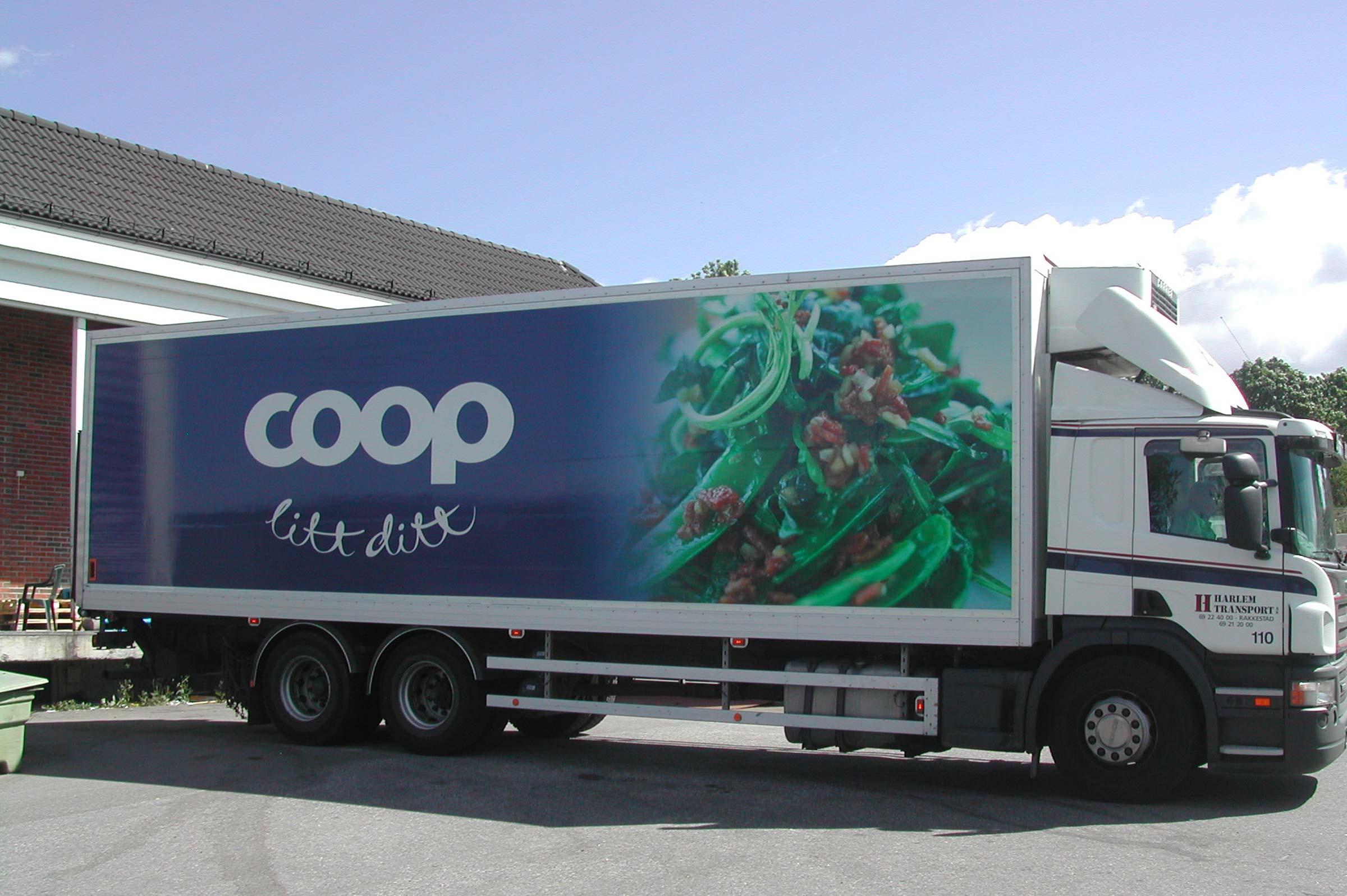 Coop Extra, bildekor, trailer