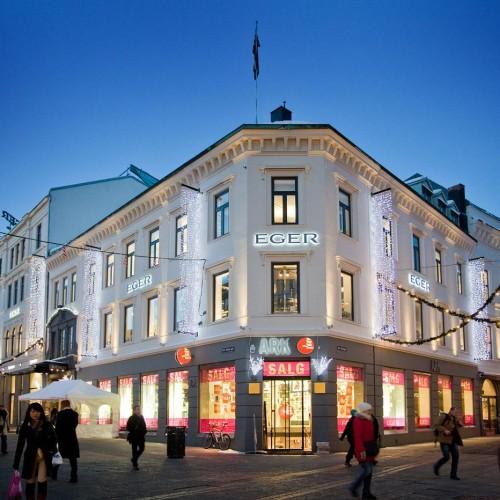 Eger, Oslo, juldekor