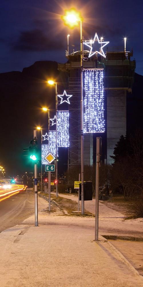 Narvik, julbelysning