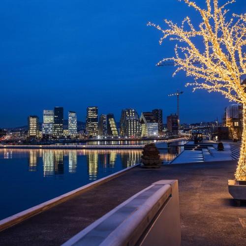 Sörenga, Oslo, julbelysning