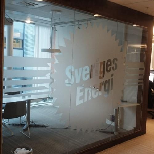 Sveriges Energi, foliedekor