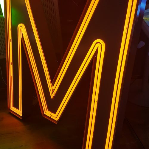 LED-bokstav – Neonkontur