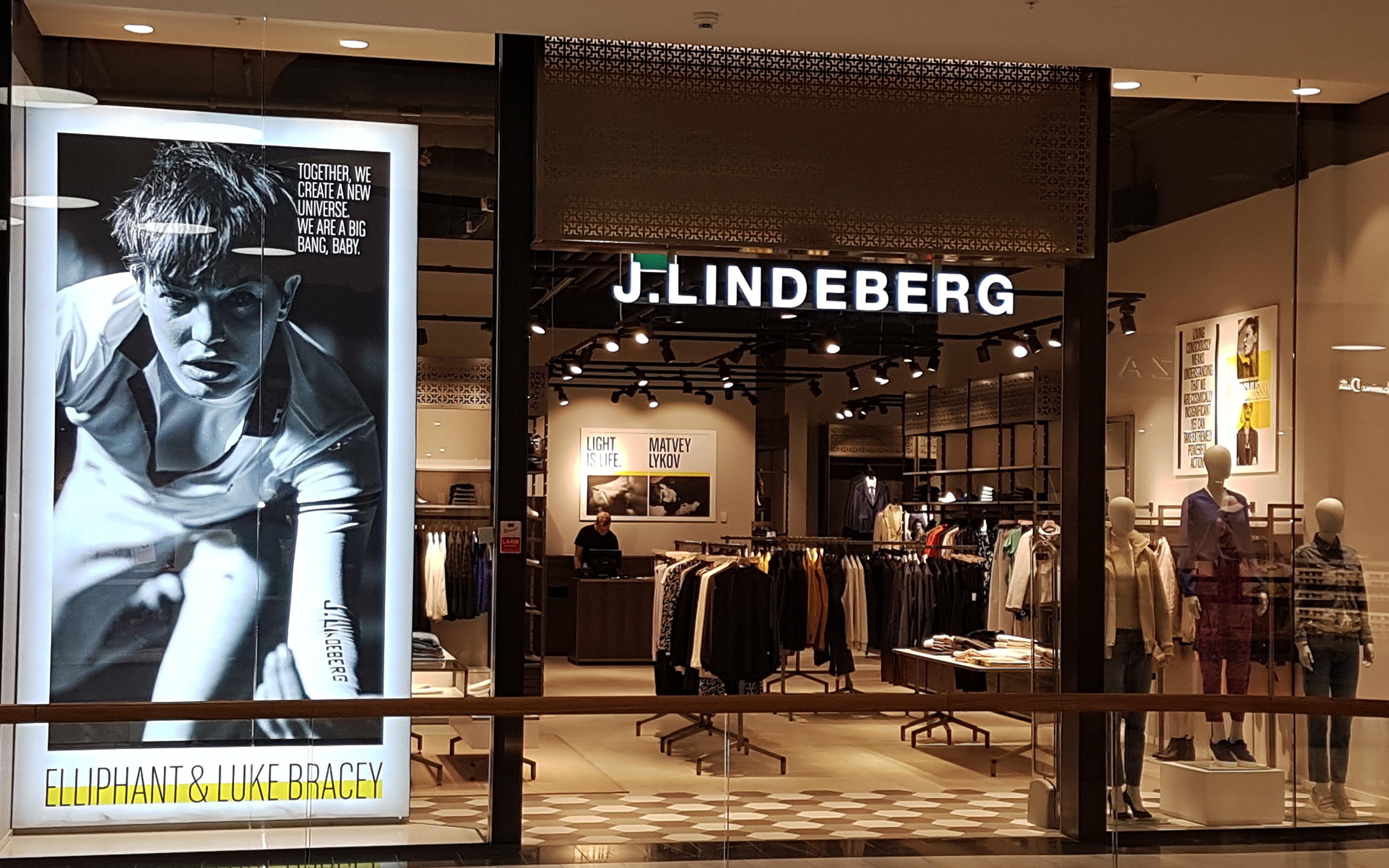 j lindeberg mall of scandinavia