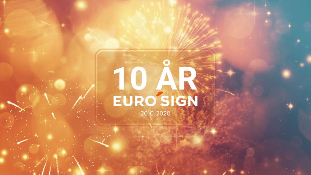 EuroSign Sverige - 10-års jubileum