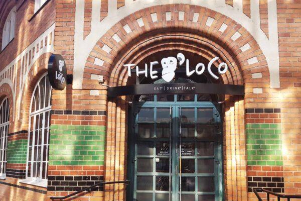 The Loco Restaurant Uppsala - Fasadskyltar